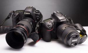 Как выбрать профессиональный фотоаппарат?