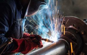 Процесс сваривания металлов