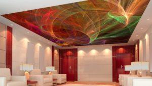 Цветовая палитра натяжных потолков