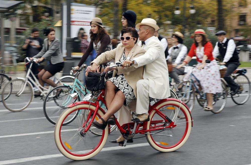 Знакомство на велосипедах
